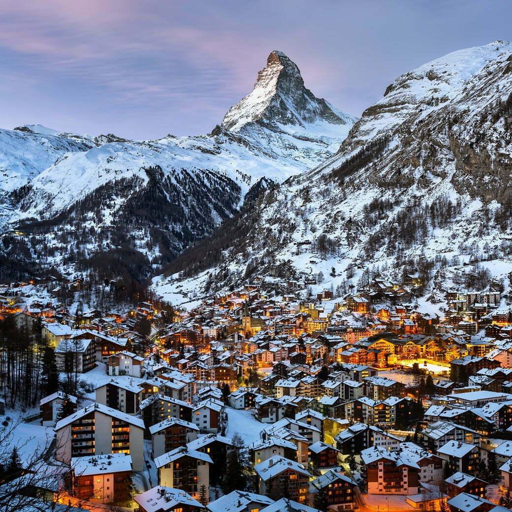 """แพคเกจทัวร์ Switzerland สวิตเซอร์แลนด์ พักเมืองในฝันของนักท่องเที่ยวทั่วโลก """"เซอร์แมท"""" 8D 5N"""